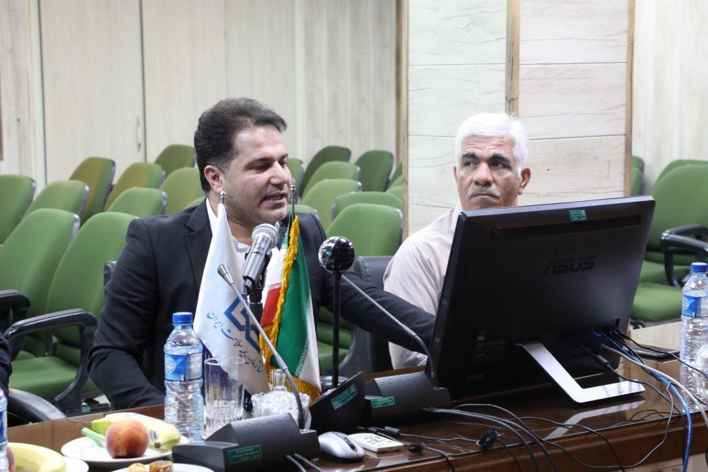 علی خسروی مدیرکل بیمه سلامت خوزستان