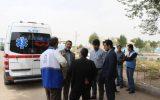 تیم ویژه مدیرکل بیمه سلامت خوزستان از بیمارستان صحرایی پادگان جوادالائمه شهرستان حمیدیه بازدید کردند