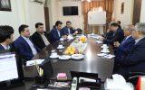 نشست مشترک کمیته امداد خوزستان با مدیر کل بیمه سلامت استان