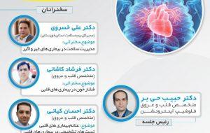 اولین وبینار تخصصی پیشگیری اولیه بیماری های قلبی عروقی و کنترل ریسک فاکتورها